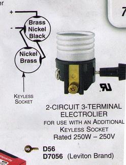similiar 3 terminal lamp socket wiring keywords sockets for lamp repair or building lamps