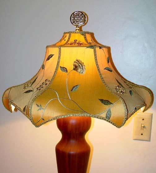 Oriental Style Lamp Shades By Hannah Murphy