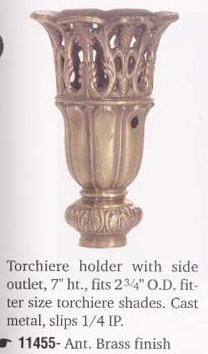 Glass Torchiere Shades Amp Holders